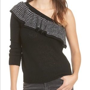 BP one shoulder sweater